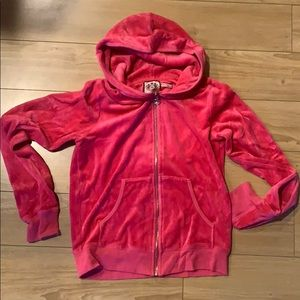 Juicy Couture Pink Velour Jacket